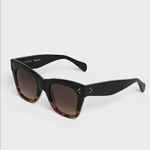 Celine two tone gradient Cat eye sunglasses
